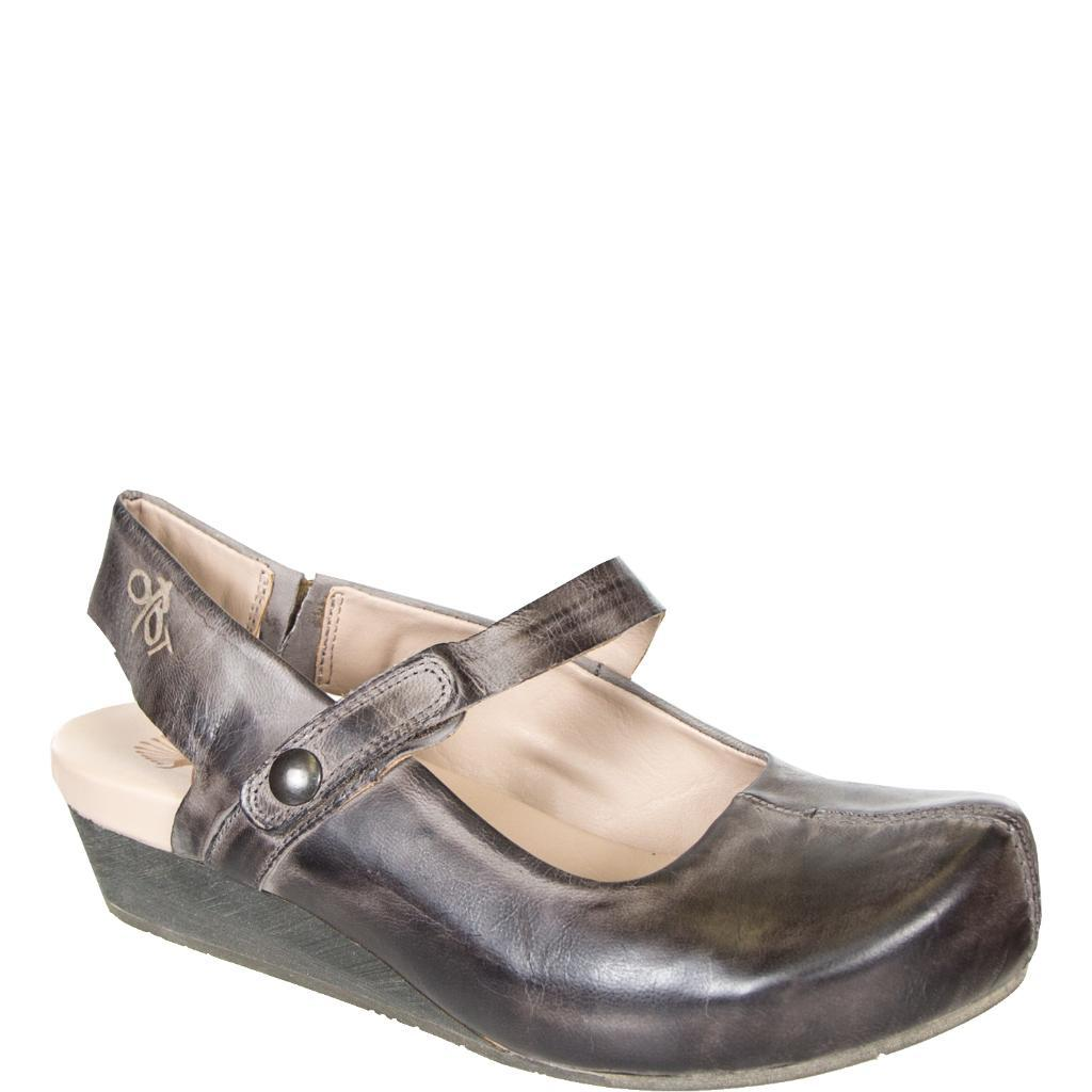 e1392b2db54 Springfield in Charcoal Closed Toe Wedges