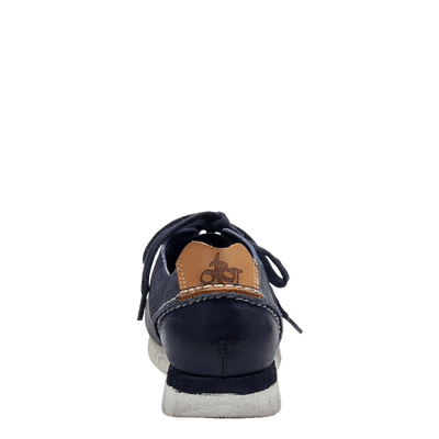 womens sneaker star dust navy back