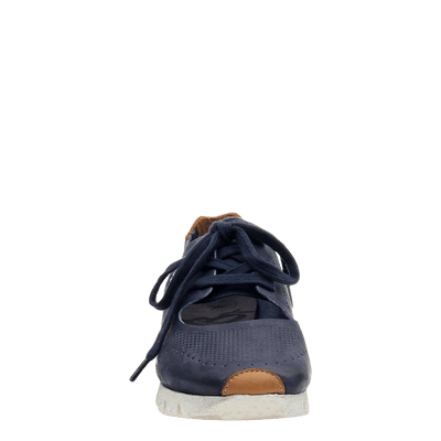 womens sneaker star dust navy front