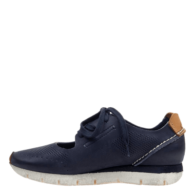 womens sneaker star dust navy inside