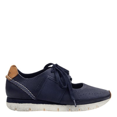 womens sneaker star dust navy side