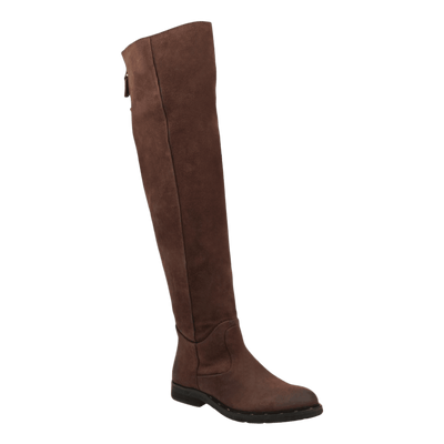 Womens over the knee boot steerage in medium brown