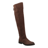 STEERAGE in MEDIUM BROWN Knee High Boots