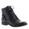 OTBT, Taos NM, Black Leather, Lace up combat boot with back zipper