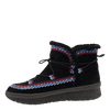 Womens cold weather boot Terreno in black inside view
