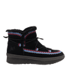 Womens cold weather boot Terreno in black side view