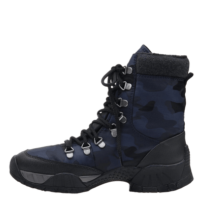 womens boot trail master navy inside