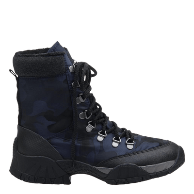 womens boot trail master navy side