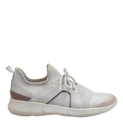 Womens sneaker transfer dove grey side