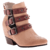 OTBT, Valley View, Brownstone,  triple buckle bootie