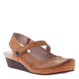 SPRINGFIELD in CASHEW Closed Toe Wedges