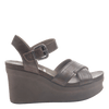 BEE CAVE in PEWTER Wedge Sandals