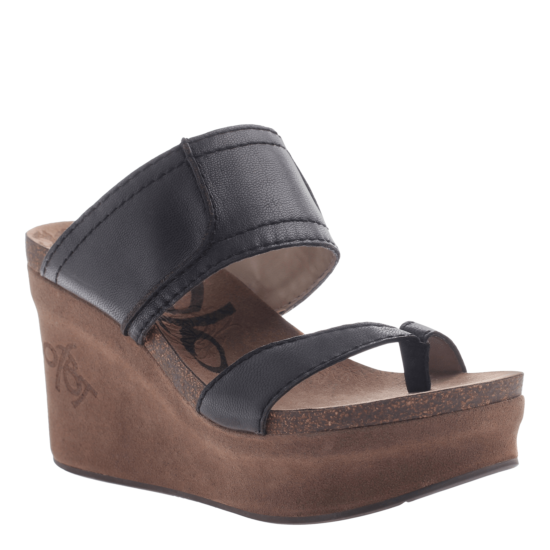 e1ad5a40927d Women s thong wedge Brookfield in New Black