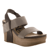 BUSHNELL in COFFEEBEAN Wedge Sandals