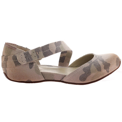 PACIFIC CITY in LIGHT CAMO Ballet Flats