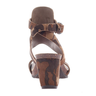 LEE in CAMO Heeled Sandals