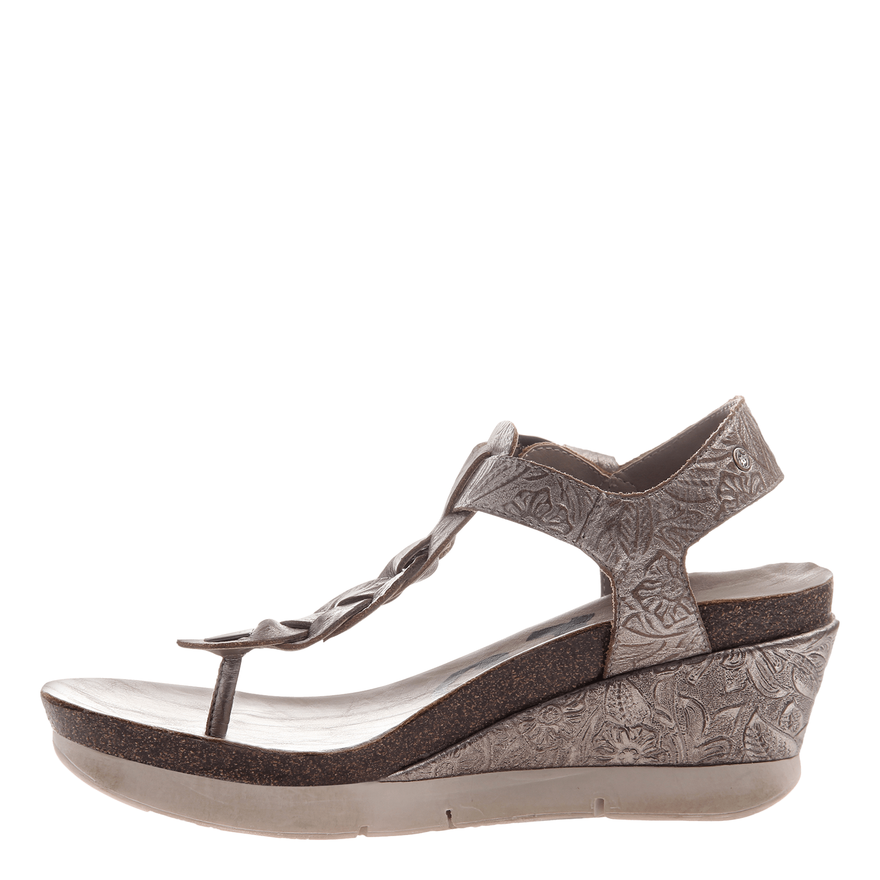 2a5e791e6737 Graceville in light pewter wedge sandals women shoes otbt png 1782x1782 Pewter  wedges