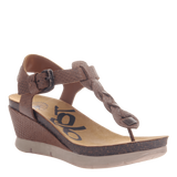 GRACEVILLE in NEW CHESTNUT Wedge Sandals