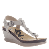 GRACEVILLE in SPORT WHITE Wedge Sandals