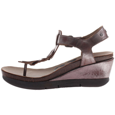 GRACEVILLE in PEWTER Wedge Sandals