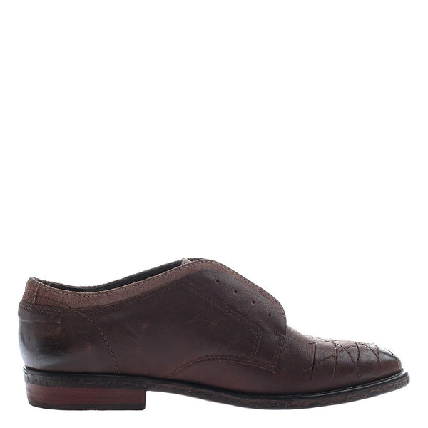 OTBT, Thayer, Dark Brown, Slip on oxford