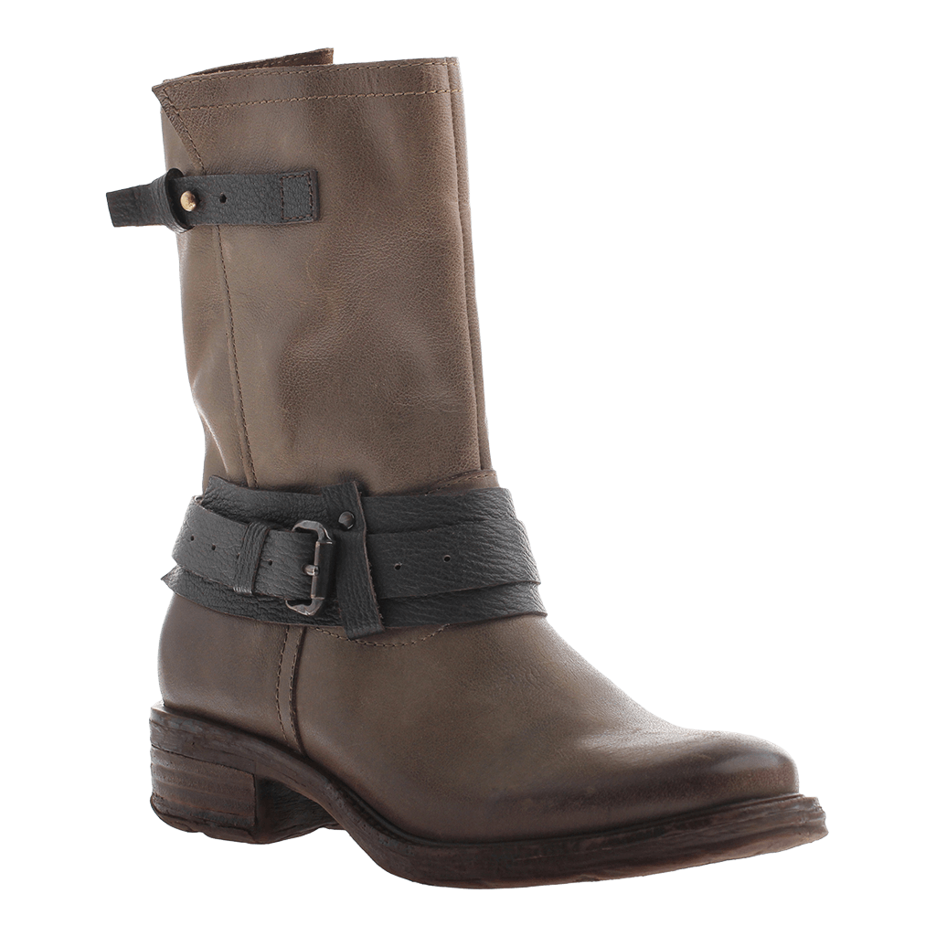 OTBT, Caswell, Mint, Leather boot with buckles