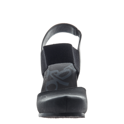 Rexburg women's wedge in new black front view