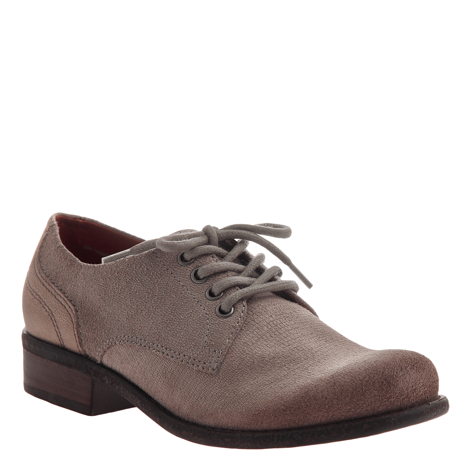 Womens oxford passenger in cement
