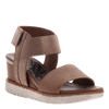 Cosmos wedge in mid taupe