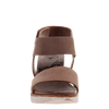 Cosmos wedge in mid taupe front view