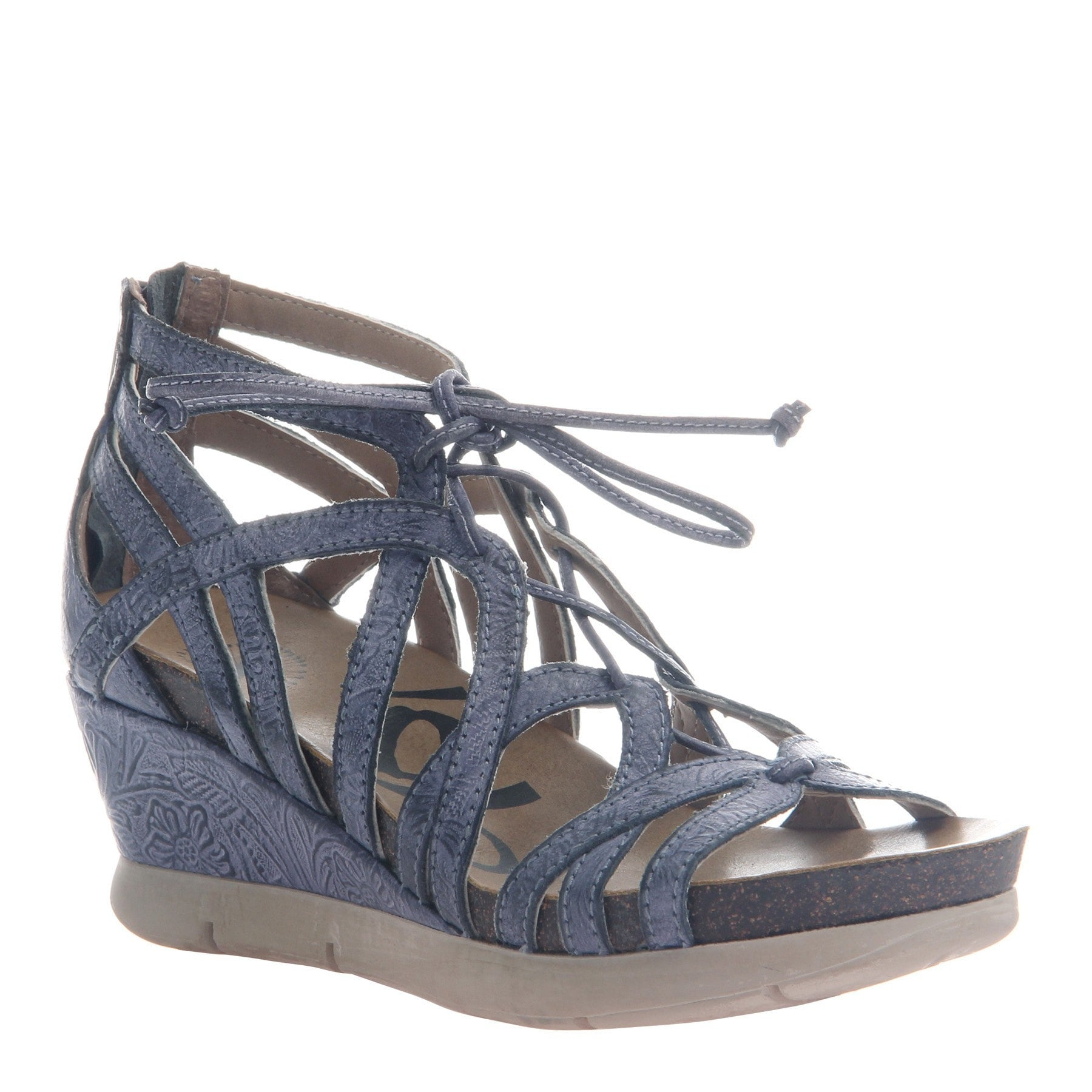 28aa4740b17 Nomadic Women s gladiator wedge in Navy