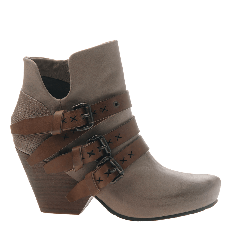 Lasso women's ankle boots in pecan