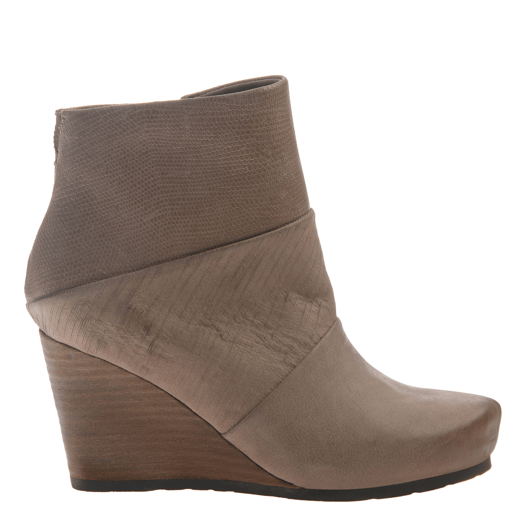 dfe0cc23f20 Dharma women s ankle boot in pecan side view