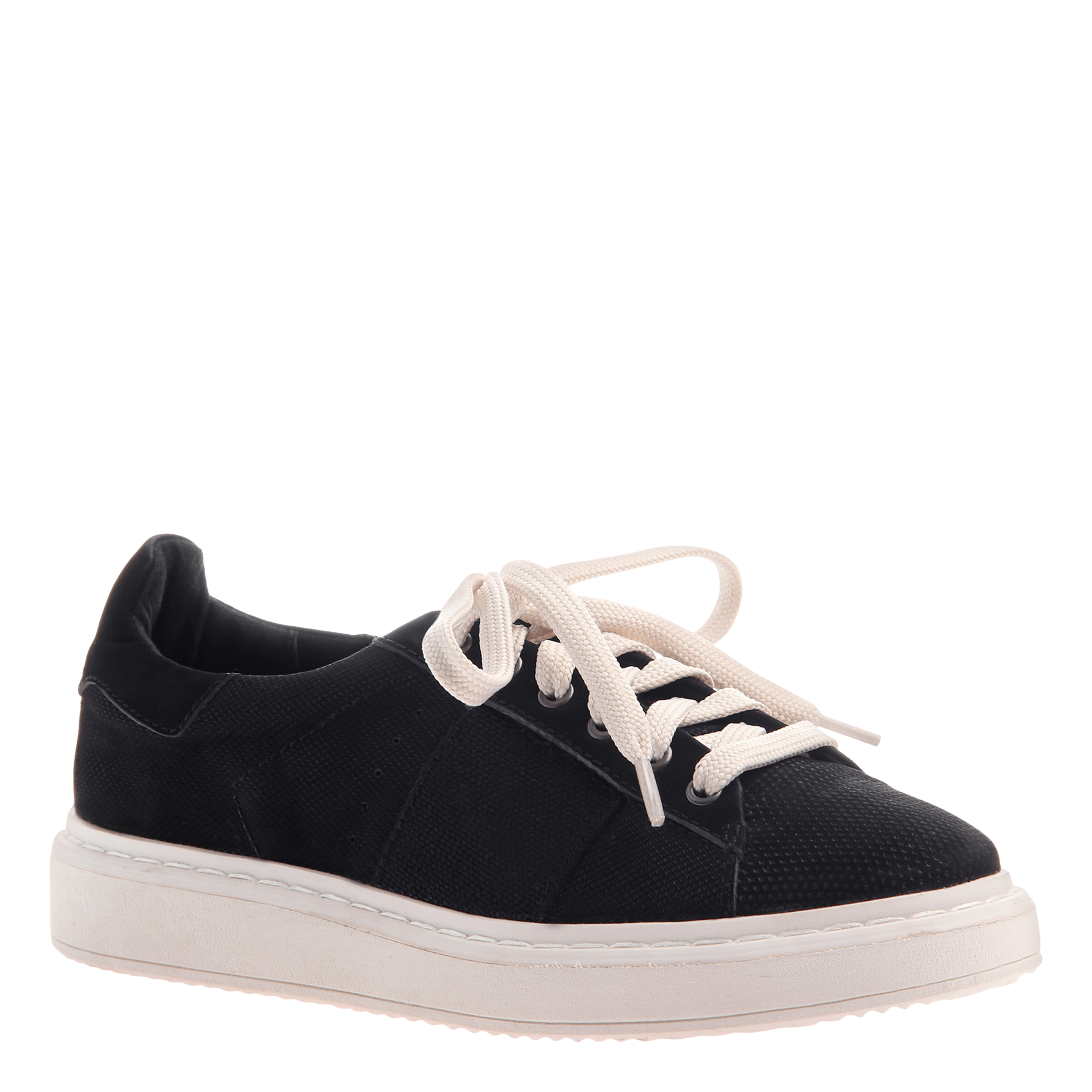 Normcore women's sneaker in black