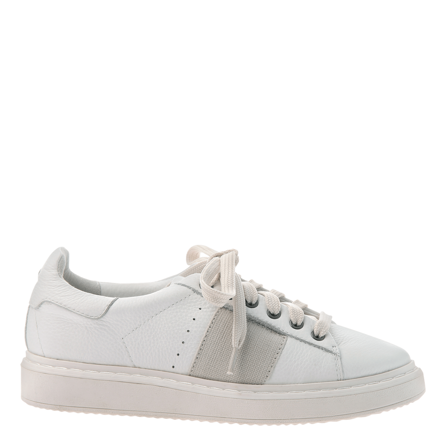 Normcore women's sneakers in white