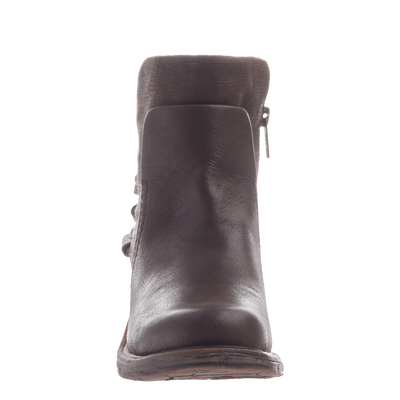 Highstreet women's ankle boot in coffee bean front view