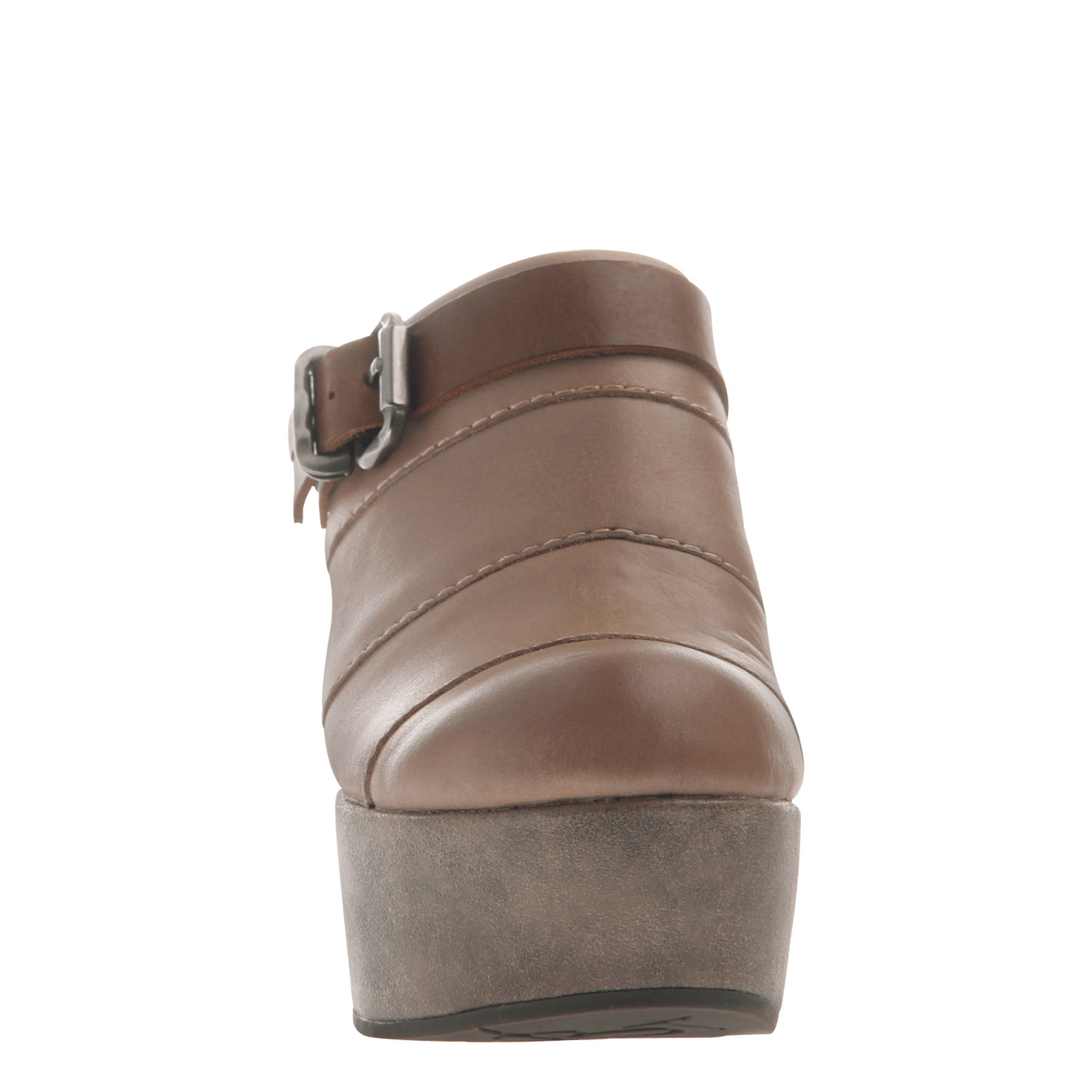 2166e6fc597 Womens platform wedge Journey in Pecan front view