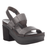 INDIO in PEWTER Wedge Sandals