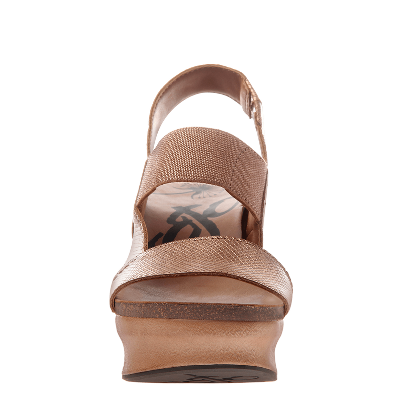Indio In Copper Wedge Sandals Women S Shoes By Otbt