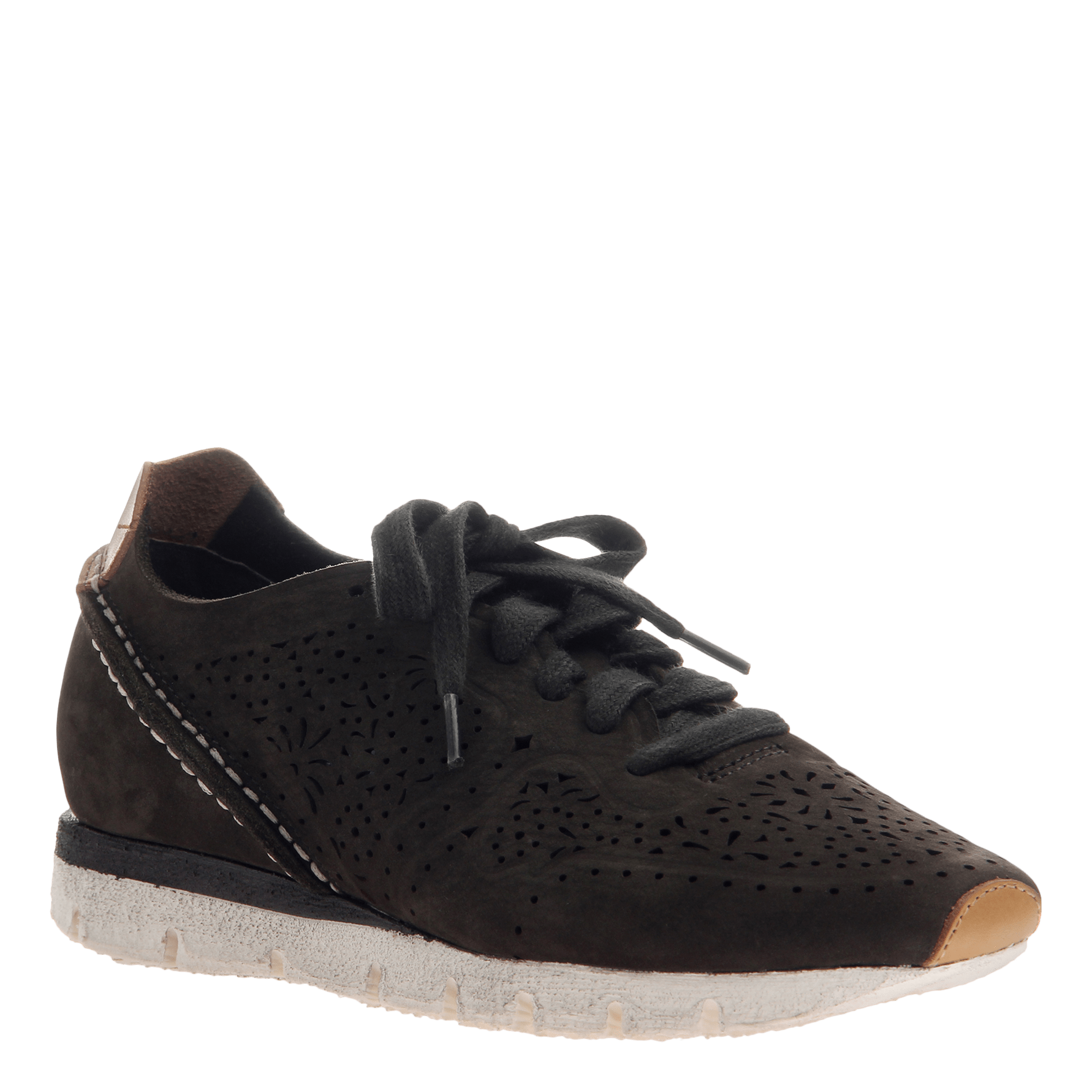 Khora women's sneaker in Dark Green