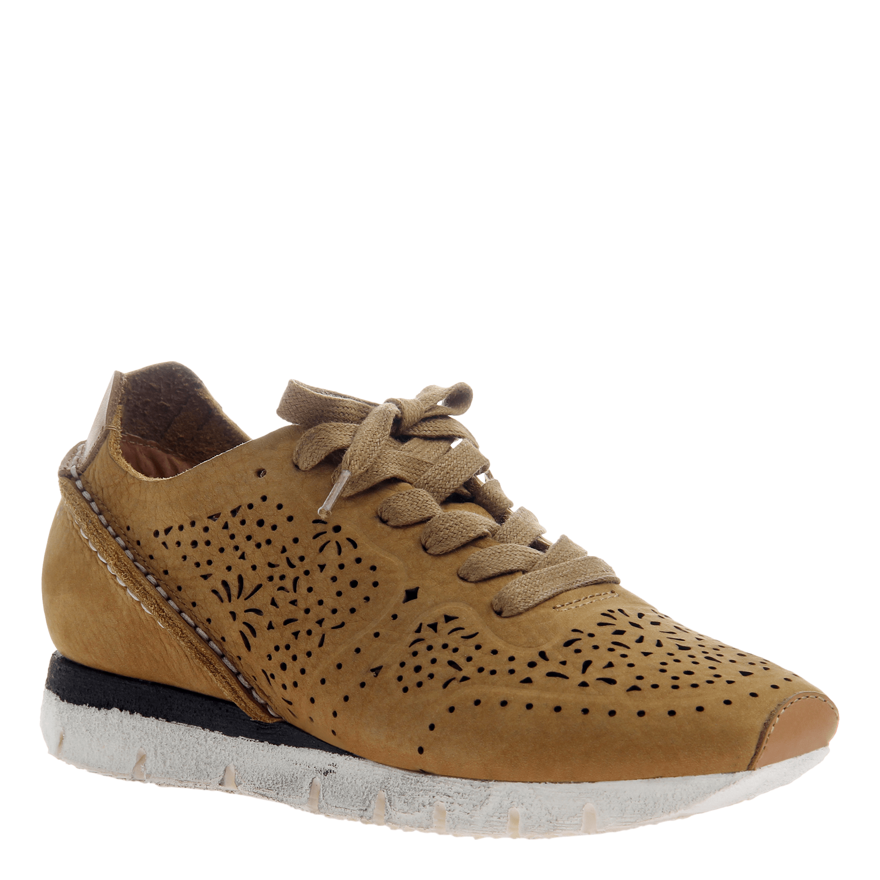 Khora women's sneaker in Gold Washed