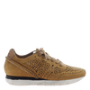 Khora women's sneaker in Gold Washed  side view