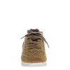 Khora women's sneaker in Gold Washed front view