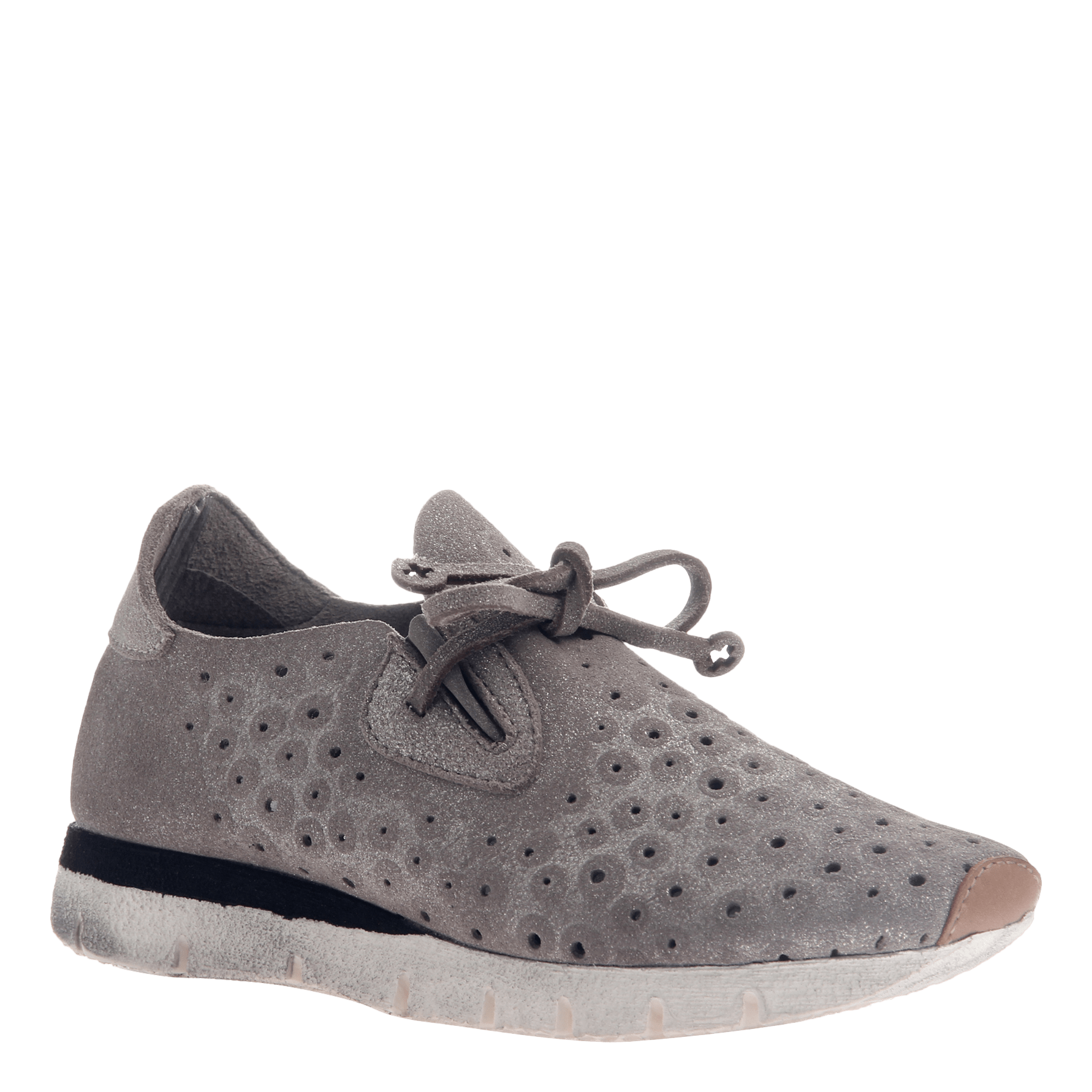 Lunar women's sneaker in Grey Silver