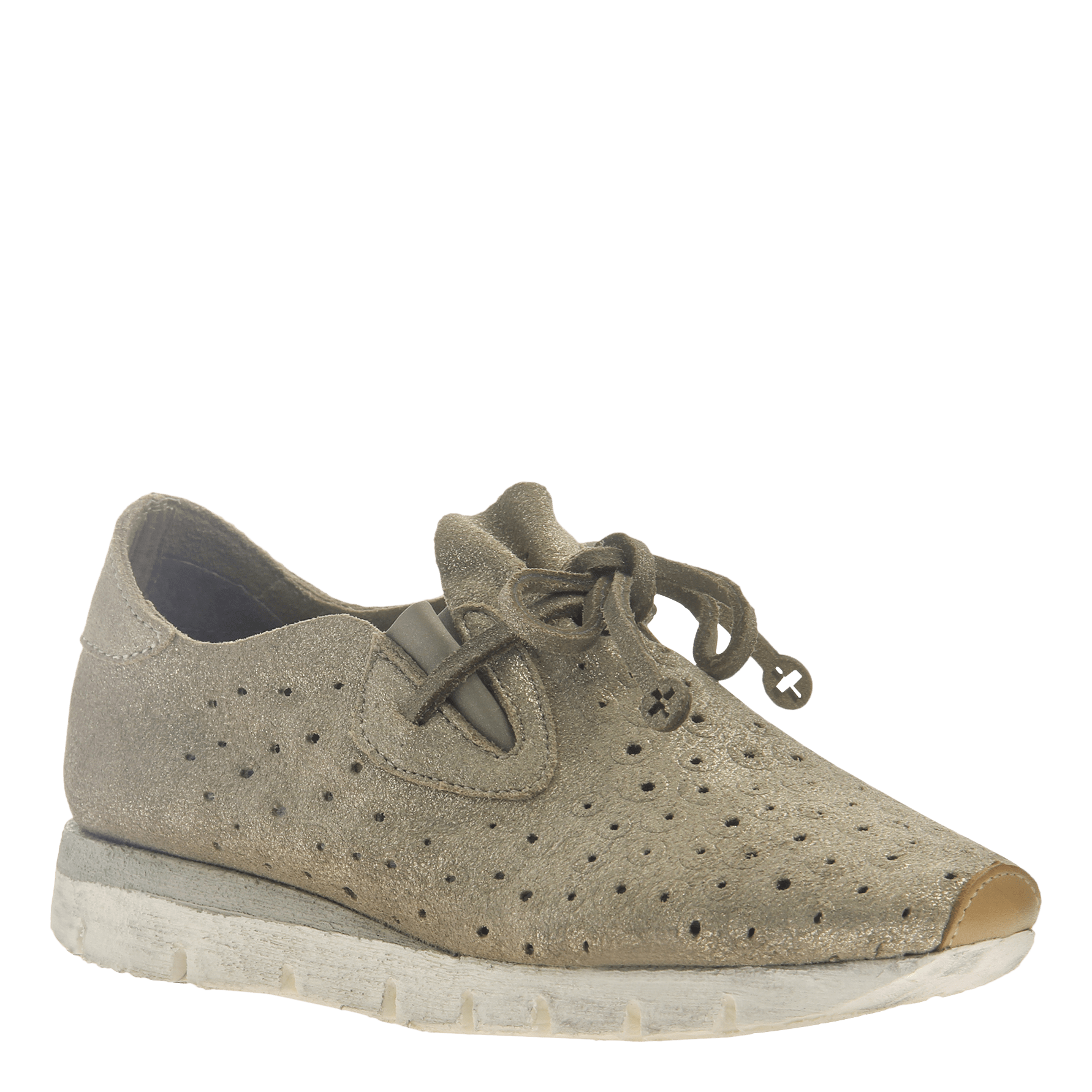 Women's lightweight slip on sneaker Lunar in New Mid Taupe