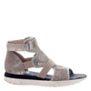 Astro Gladiator Sport Sandal in Grey Silver side view