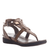 Celestial sandal in copper