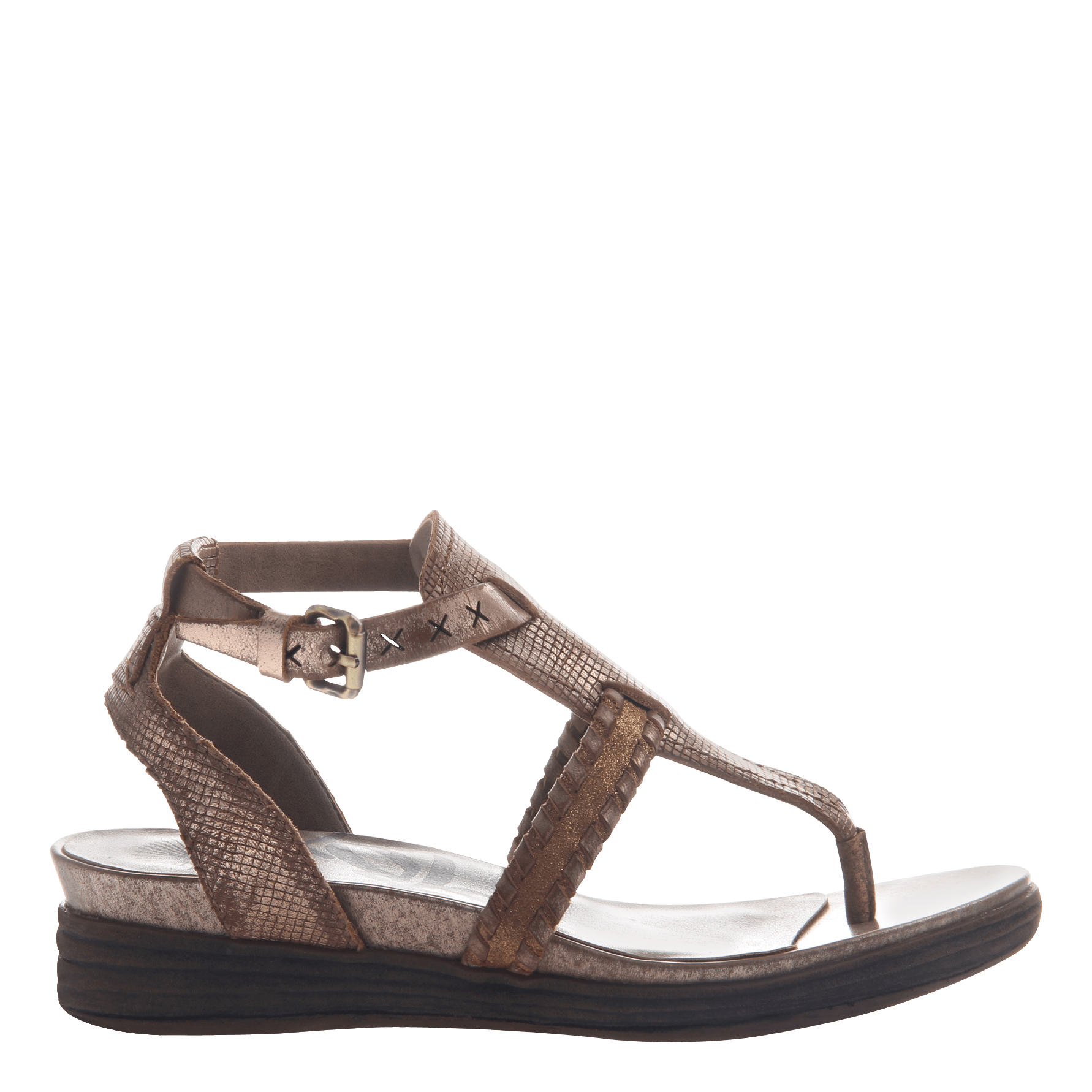 Celestial In Copper Flat Sandals Women S Shoes By Otbt