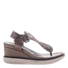 Excursion wedge in Grey Silver  outside view