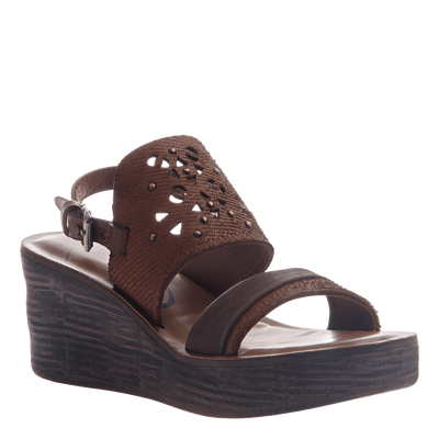 Hippie wedge in Oak